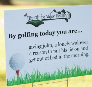 Tee Off for Valley Health 2013