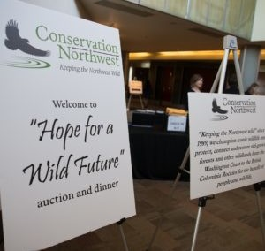 Conservation Northwest's Hope for a Wild Future Gala Auction 2017