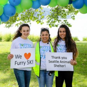 Seattle Animal Shelter's Annual Furry 5K 2017