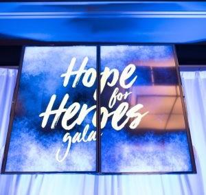 Hope for Heroes Gala 2017