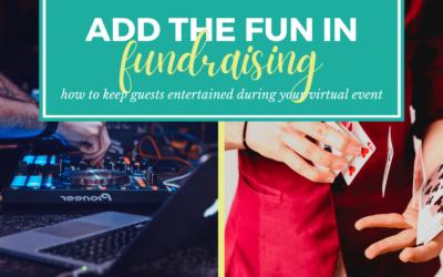 Add the 'Fun' in Fundraising