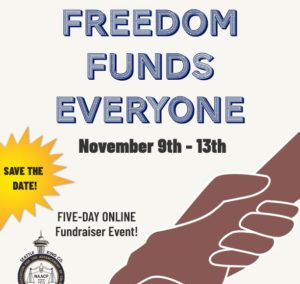 Seattle King County NAACP Freedom Funds Everyone Week of Giving 2020