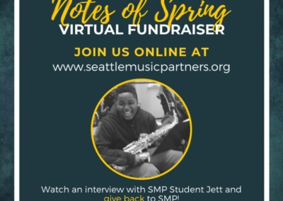 Seattle Music Partners Notes of Spring Virtual Fundraiser 2020