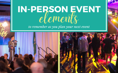 Five Elements to Remember when Returning to In-Person Event